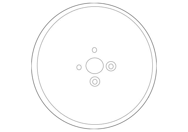 2012-2017 Hyundai Accent Wheel, Steel 52910-1R005