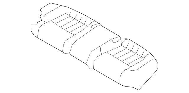 2013-2014 Hyundai Genesis Cushion Cover 89160-3M400-RHY