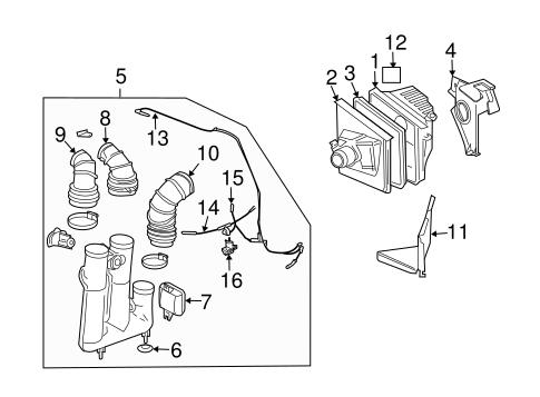 2003 Cadillac Engine Diagram