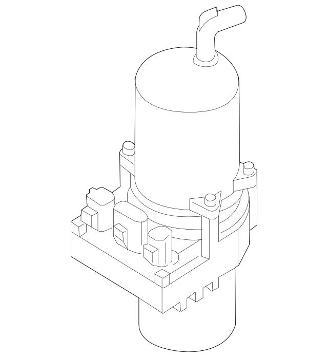 2005-2010 Mazda Power Steering Pump BR5V-32-600J