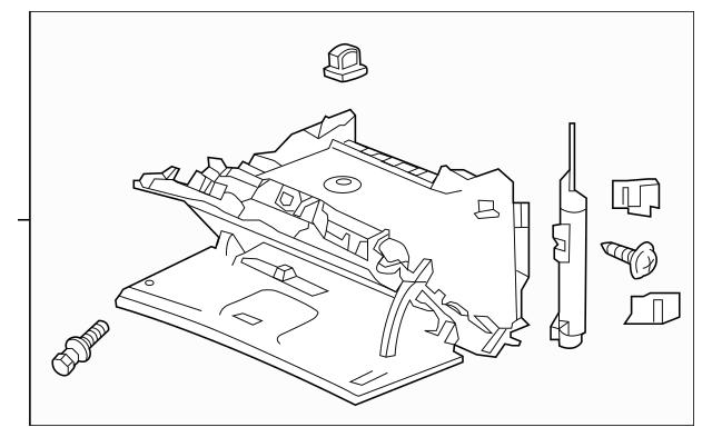 2012-2016 Honda CR-Z HATCHBACK Box Assembly, Glove *NH167L