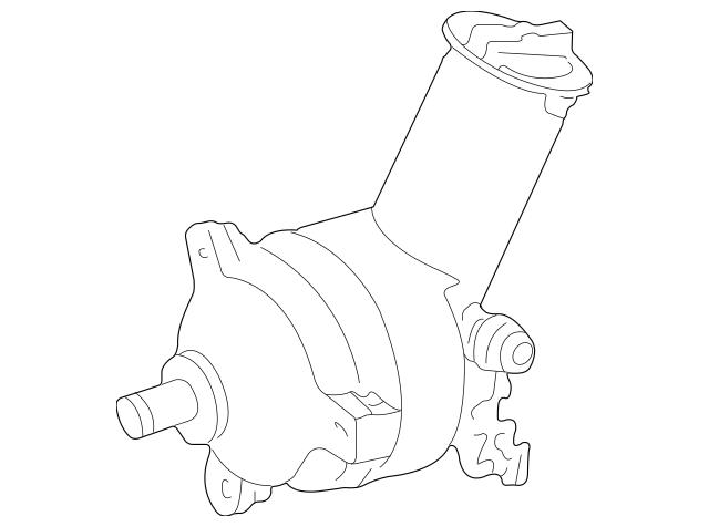 Buy this Genuine 2001-2010 Ford Ranger Power Steering Pump