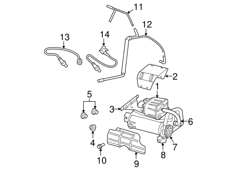 Emission Components for 2007 Dodge Ram 1500 Parts