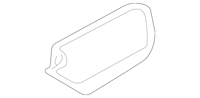 2011-2013 Kia Sportage Speaker Cover 96333-3W000WK