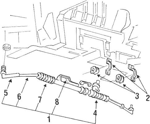 Steering Gear & Linkage for 1999 Mercury Villager