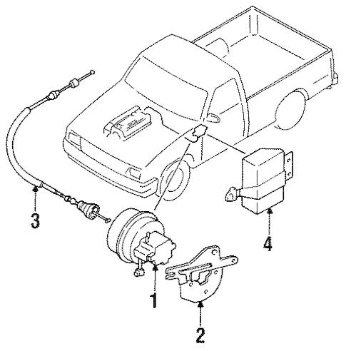 CRUISE CONTROL for 1989 Mazda B2200