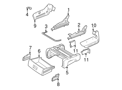 TRACKS & COMPONENTS for 2005 Dodge Grand Caravan