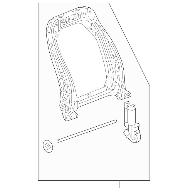 Frame R Middle Seat Back