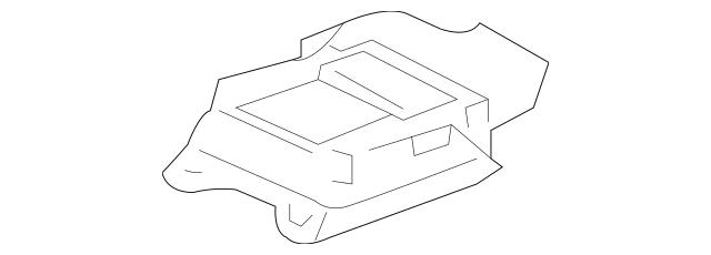 2004-2009 Toyota Prius Control Module 89170-47070