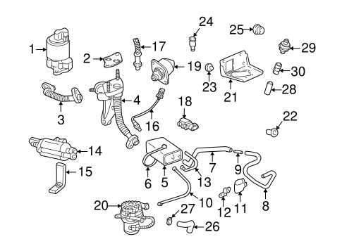 OEM FUEL SYSTEM COMPONENTS for 2003 Chevrolet Impala