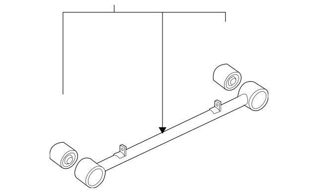 Genuine OEM Trailing Arm Part# 55230-3E102 Fits 2003-2006