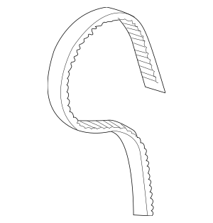 2014-2017 Acura Belt, Timing (197YU20 DP1) (Unit Ta) 14400
