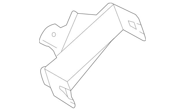 2015 Subaru Forester Control Module Bracket 88281SG520