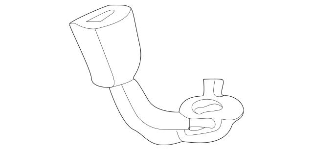 Honda Buckle Set, L Rear Seat Belt *YR203L* (Saddle
