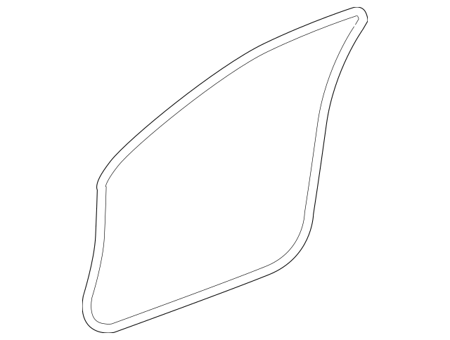 2008-2012 Honda ACCORD COUPE Seal, L Front Door Opening