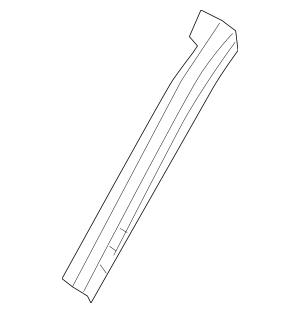 2013-2014 Nissan Altima Windshield Pillar Reinforced G6214