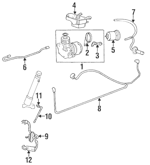 Auto Leveling Components for 1997 Buick Riviera