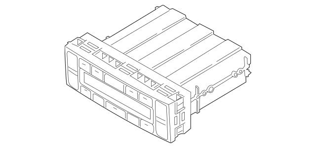 Genuine OEM Dash Control Unit Part# 97250-3F650 Fits 2005