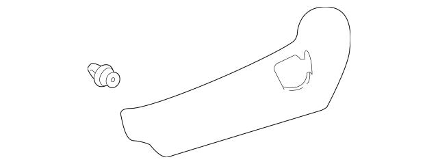 2014-2019 Toyota Highlander Outer Side Panel 71812-0E150
