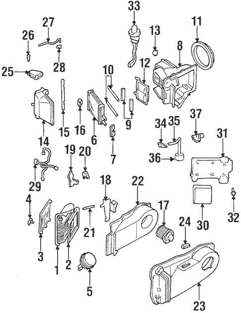Blower Motor & Fan for 1999 Cadillac DeVille (Base