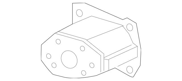 2013-2015 Honda Extension, R Front Bumper Beam 71150-TR3