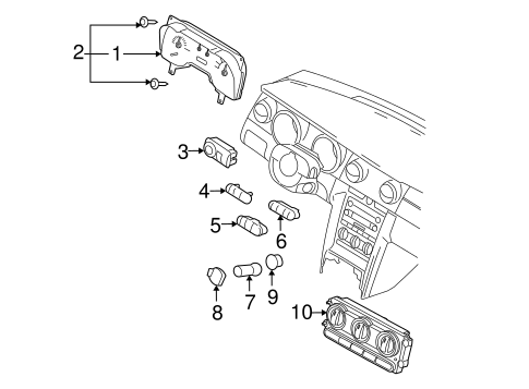 CONTROLS for 2007 Ford Mustang