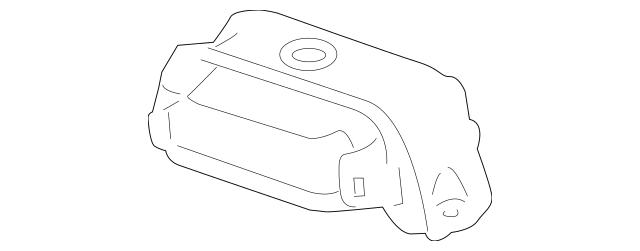 2010-2015 Honda CROSSTOUR 5-DOOR Damper, Rear Differential