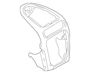 2003-2010 Porsche Cayenne Center Bezel 955-552-086-01-6E7