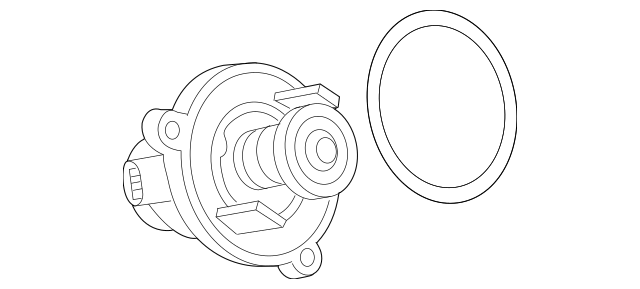 Genuine BMW Engine Coolant Thermostat Kit 11-53-7-586-885