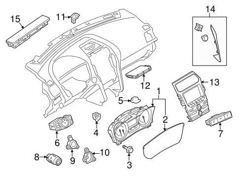 Sentinel Sensor for 2014 Ford Explorer : Potamkin Parts