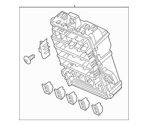 Genuine 2014-2015 Honda CIVIC SEDAN Box Assembly, Fuse