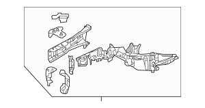 Discount Genuine OEM 2015-2017 Honda FIT 5-DOOR Frame, R