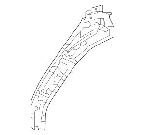 Honda Extension Set, R Front Shock Absorber (04674-T5R
