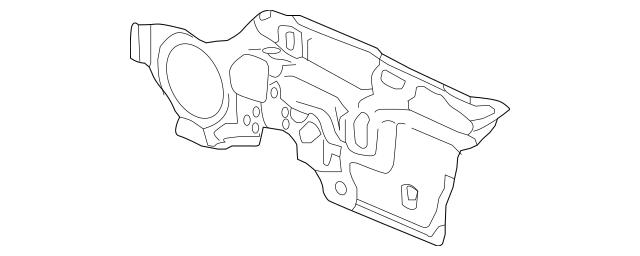Genuine 2015-2017 Honda FIT 5-DOOR Insulator, Dashboard