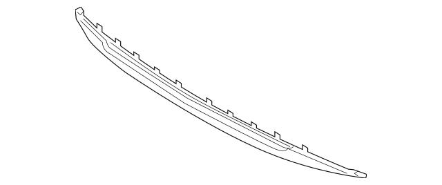 2011-2013 Kia Optima Lower Deflector 86590-4C000