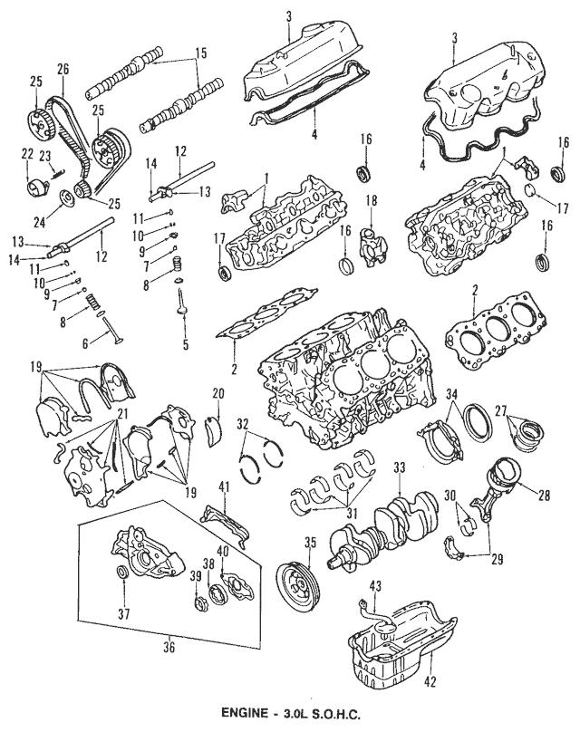 1993-2019 Mitsubishi Engine Expansion Plug MF665541