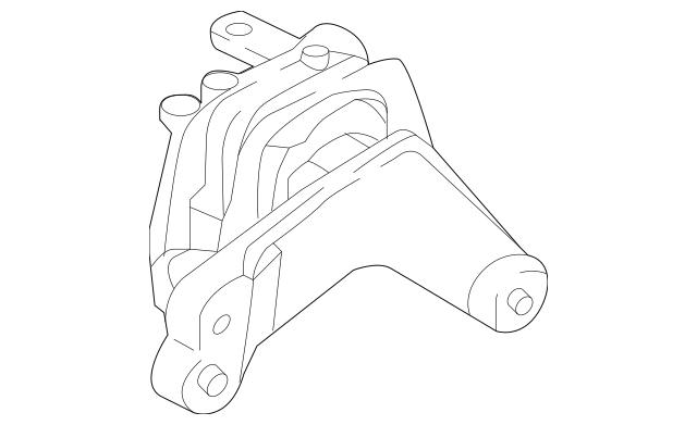 2016-2018 Audi A3 Sportback e-tron Engine Support 5Q0-199
