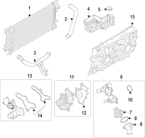 Ford 5 0 Cooling System Case Cooling System Wiring Diagram