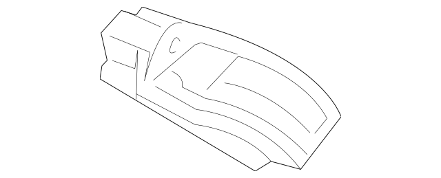 2011-2013 Honda ODYSSEY 5-DOOR CPU Assembly, Rear Air
