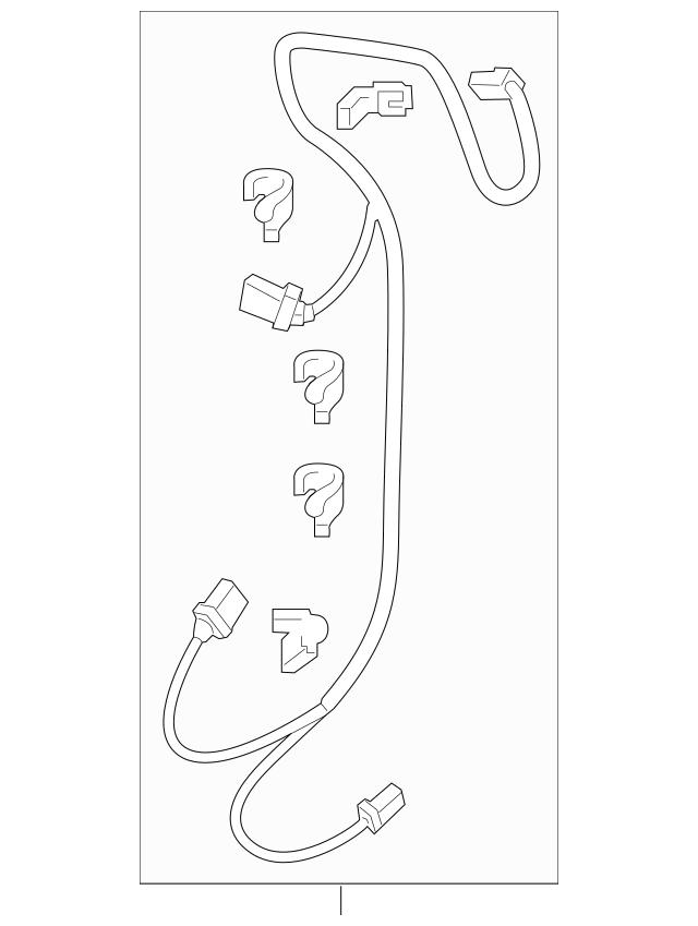 2011-2016 Honda ODYSSEY 5-DOOR Sub-Wire Harness, Heater