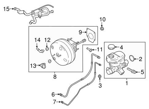 Lincoln Navigator Vacuum Hose Diagram / Help Locating Part