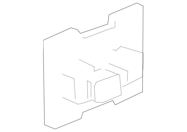 OEM Genuine Fuse Relay Junction Block 10-13 Silverado 1500