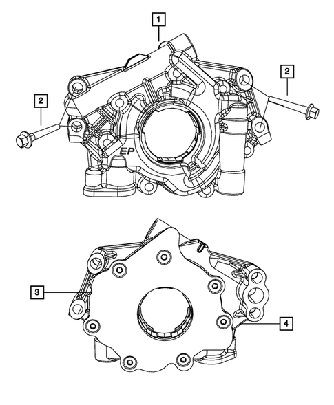 Engine Oiling, Oil Pan and Indicator (Dipstick) for 2013