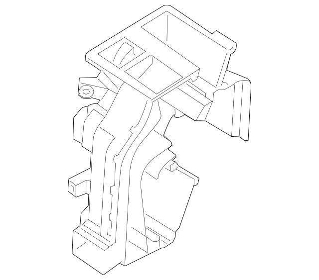 2011-2016 Kia Optima Evaporator Case 97134-2T010