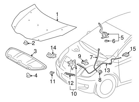 Toyota Yaris Body Parts Diagram : Toyota Yaris Verso Echo