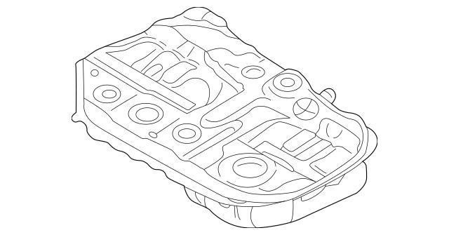Genuine OEM Fuel Tank Assembly Part# MR978019 Fits 2003
