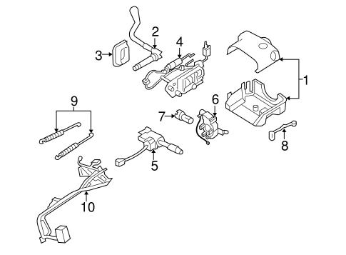 OEM 2005 Pontiac Montana Ignition Lock Parts