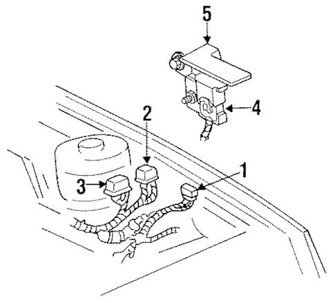 Map Sensor for 1997 Dodge Caravan 4686485 : Genuine OEM