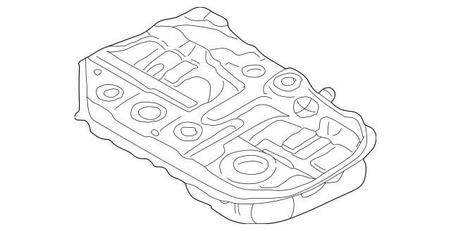 2004-2007 Mitsubishi Lancer Fuel Tank MN120083
