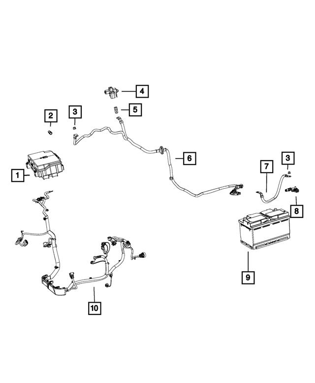 2014 Jeep Grand Cherokee Alternator Starter Power